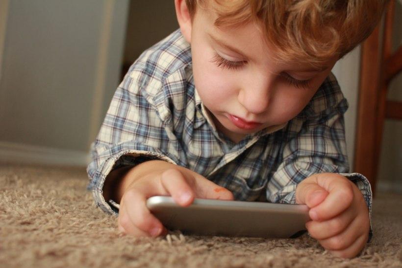 Mida teha, kui lapsel on nutisõltuvus? Spetsialist annab nõu