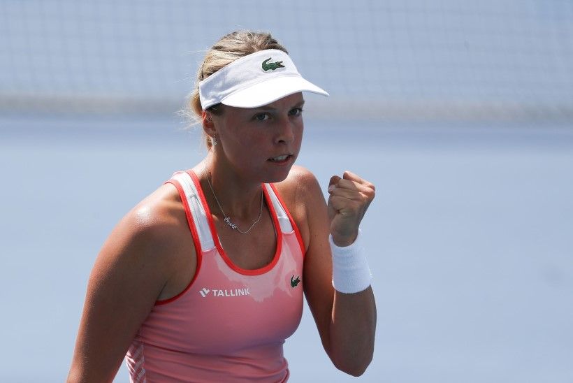JESS! Meeletult võidelnud Kontaveit jõudis US Openil kolmandasse ringi