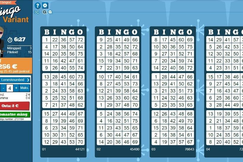 Bingoga võideti rekordsumma – 150 000 eurot!