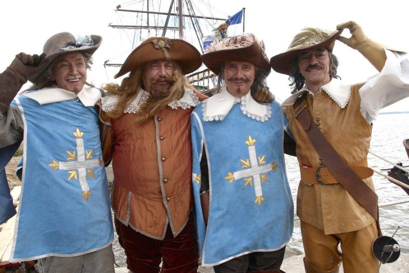"""OHOO! Legendaarse filmi """"D'Artagnan ja kolm musketäri"""" trupp oli vastassoo peale maias!"""