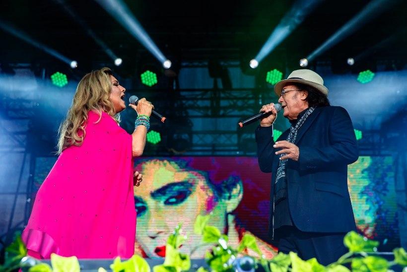 GALERII   NII ILUS! Albano Carrisi ja Romina Poweri Tallinna kontsert oli ülimalt emotsionaalne