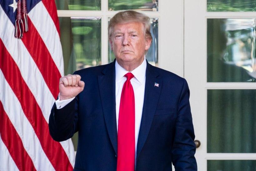 TUGEV TORM: Trump tühistas orkaan Doriani tõttu Poola visiidi