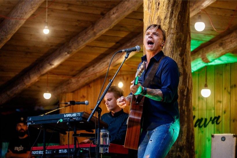 GALERII | Värske isa Tanel Padar hõigati lavale ovatsioonide saatel: tähistan koos teiega!