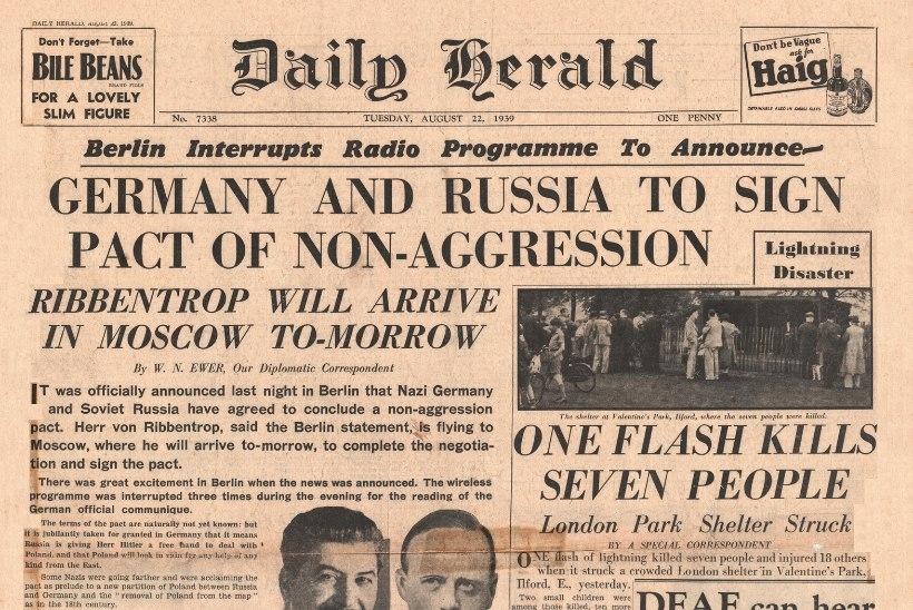 1. september 1939: nii nad alustasidki Teist maailmasõda!