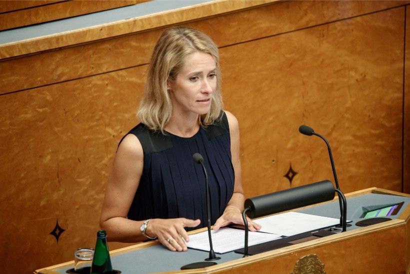Kaja Kallas: peaminister, kes laseb Eestit lõhkuda, vastutab selle eest