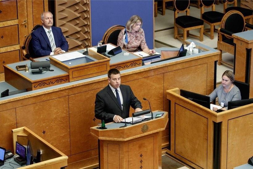 Jüri Ratas: valitsuses ei saa olla teistest õigemaid poliitikuid
