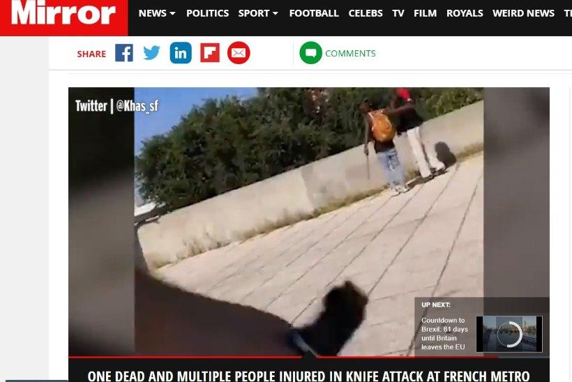 VIDEO | Prantsusmaal noarünnakus sai surma 19aastane mees