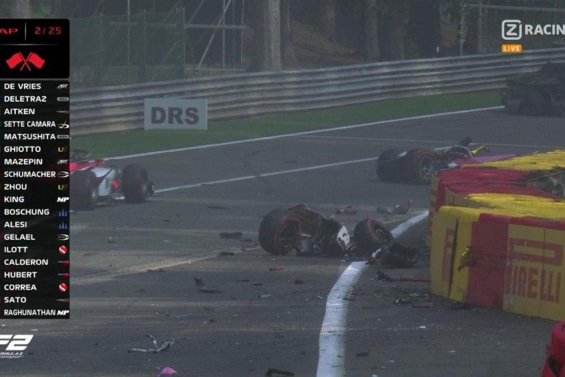 VIDEO | KOHUTAV! Belgia GP-l hukkus 22aastane vormelitalent