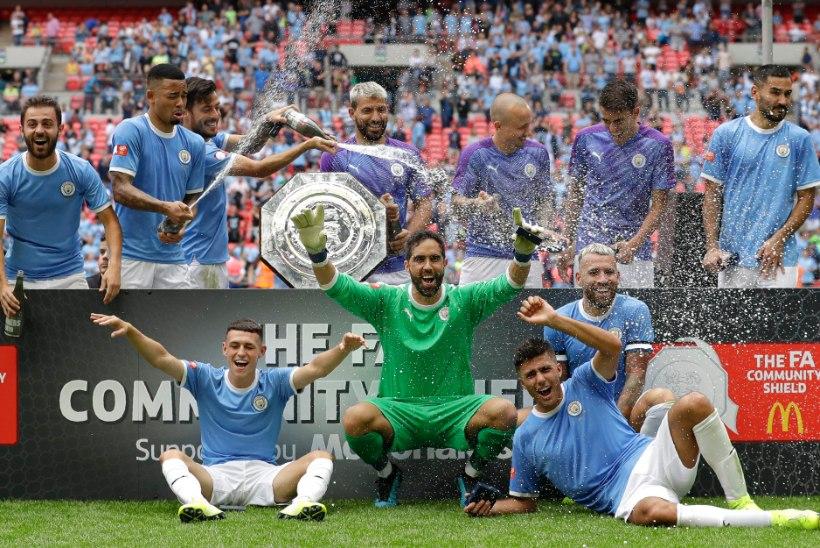 VIDEO   Man City napsas Liverpoolilt hooaja esimese trofee penaltite abiga