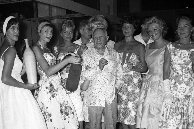 Banderas loobus Picasso kehastamiseks kulmudest ja juustest