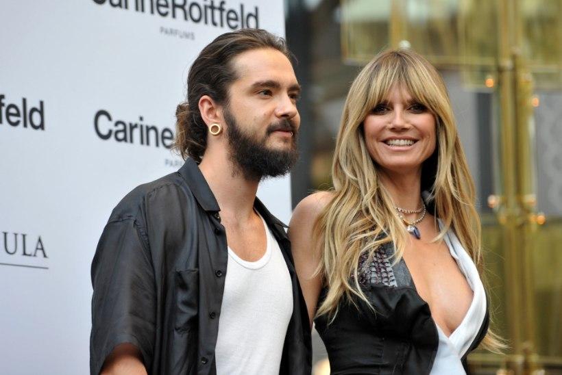 Vau! Heidi Klum abiellus luksusjahil oma kallima Tom Kaulitziga
