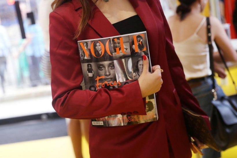 Meghani külalistoimetatud Vogue kaob poeriiuleilt