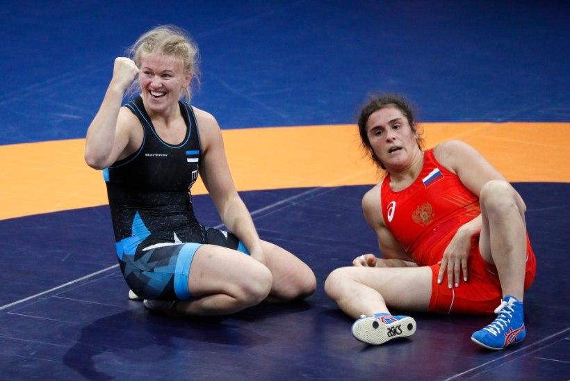 HEA TÖÖ! Epp Mäe alistas olümpiavõitja ja jõudis poodiumile