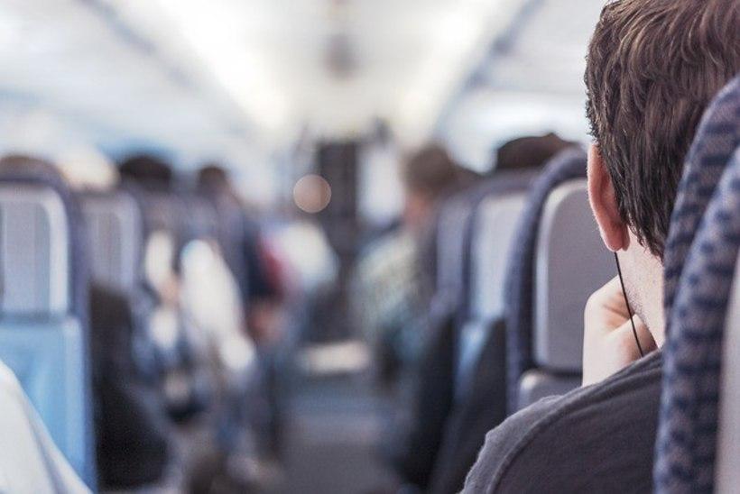 Valelt istmelt lahkumast keeldunud mees visati lennult välja