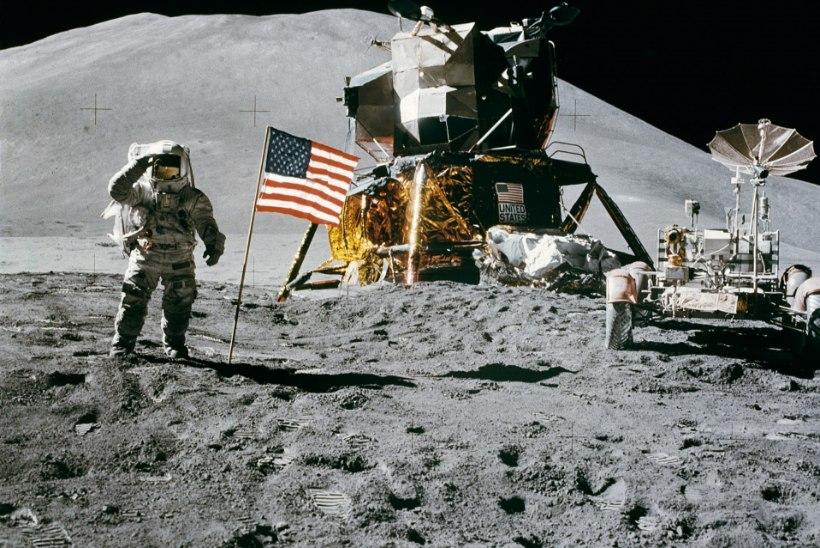 MINEVIKUHETK | 7. august: Maale naasid Kuud avastanud Apollo 15 astronaudid