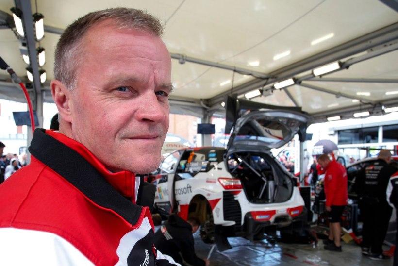 Tommi Mäkinen ei lubanud isegi mõelda variandile, et Meeke visatakse enne hooaja lõppu üle parda