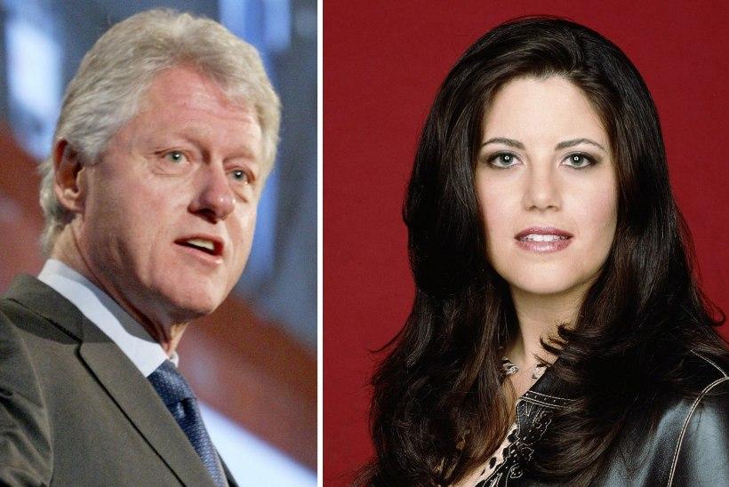 Clintoni seksiskandaalist tehakse sari, produtsent on Lewinsky!