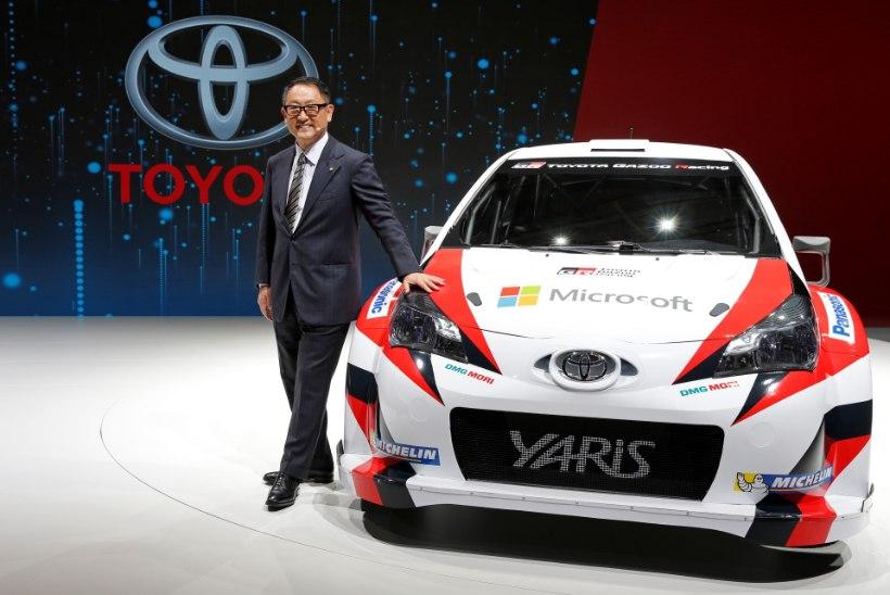 Toyota presidendi kõrged eesmärgid: tahame kaardilugeja, sõitja ning meeskondlikku MM-tiitlit!