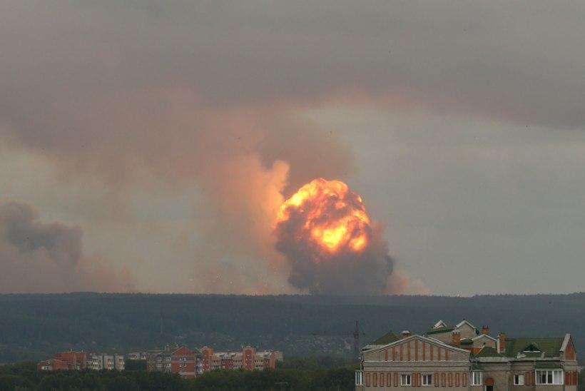 ÕNNETUS ÕNNETUSE OTSA: Vene mereväepolügoonil hukkus seitse inimest