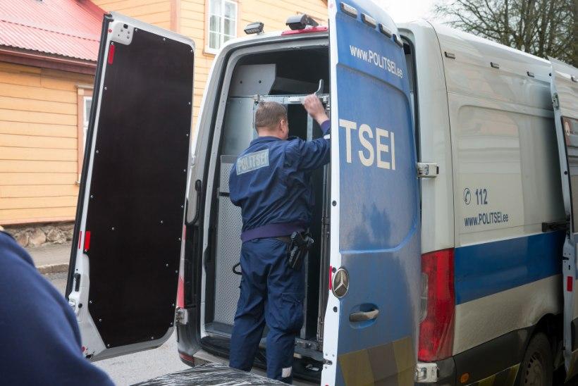 Politseinikele kambaka teinud lärmajate ninamees sai tingimisi vangistuse