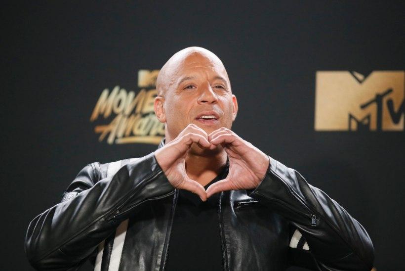 Vin Dieseli kaskadöör lamab endiselt haiglas