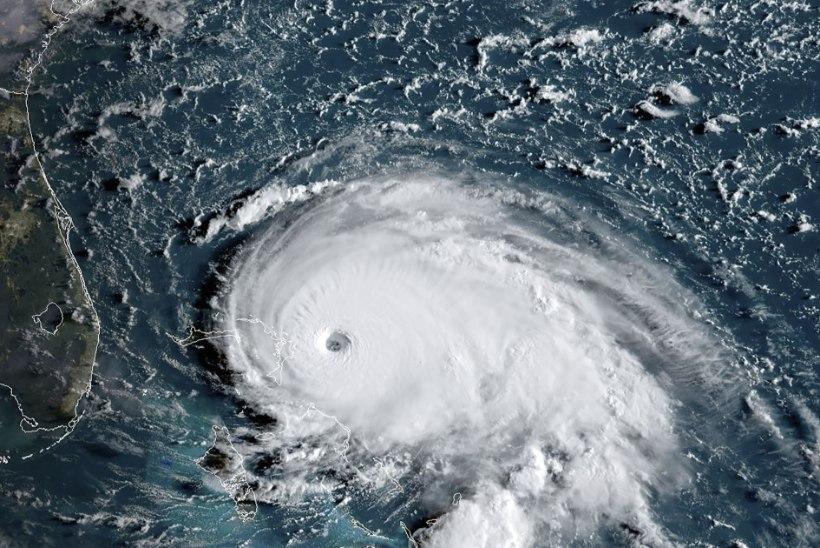 Täiuslik torm! Kõrgeima kategooria orkaan Dorian jõudis Bahamale