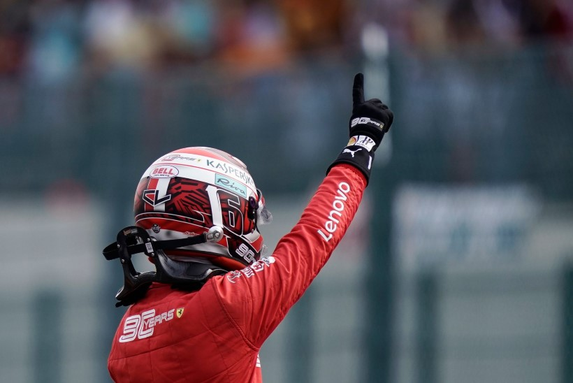Belgia GP: Ferrari piloot hoidis maailmameistrid enda selja taga ja võttis karjääri esimese võidu!