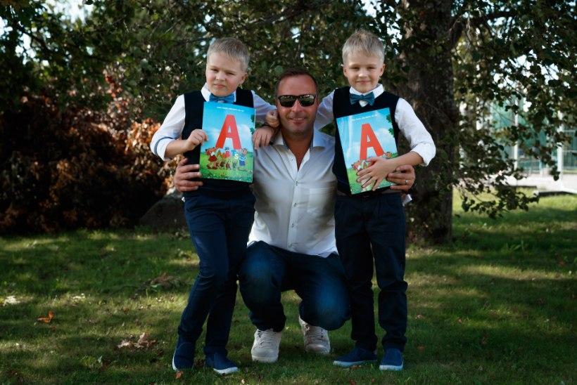 FOTOD | Indrek Raadiku kaksikud alustasid kooliteed: eliitkoolide kohtade pärast võitlemine on läinud üle võlli!