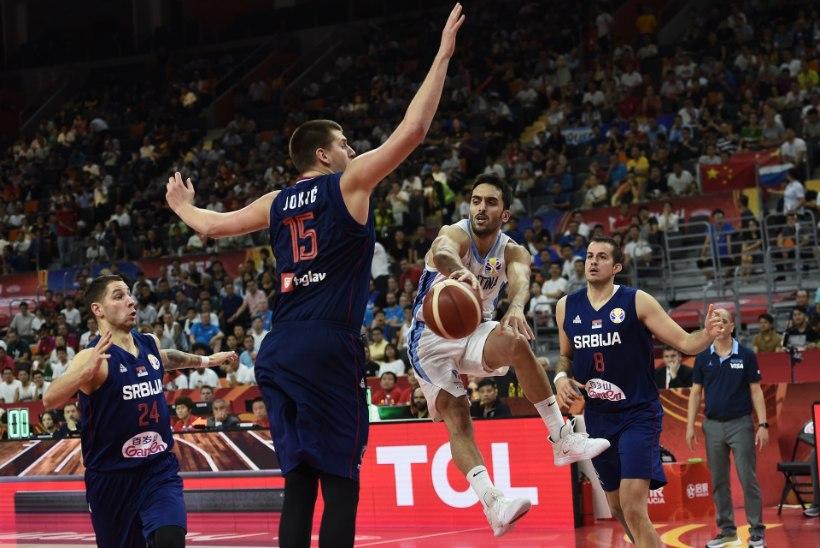 ÜLLATUS! Serbia MM lõppes veerandfinaalis