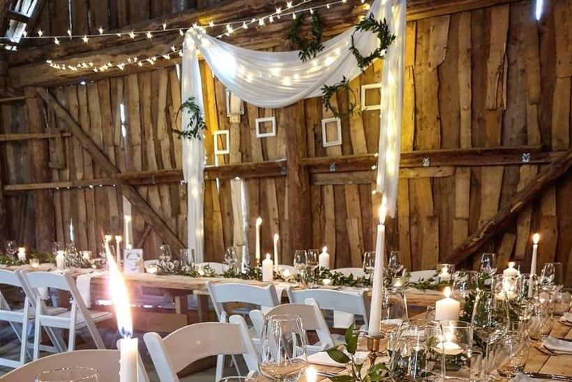 GALERII | Imetle ja kogu inspiratsiooni lihtsatest ja mõjusatest pulmadekoratsioonidest!