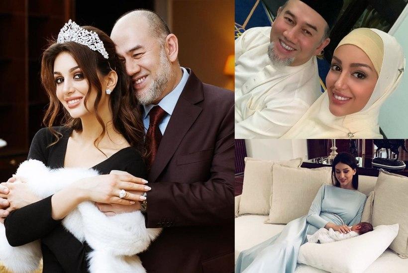 Malaisia kuningale poja sünnitanud Vene miss ähvardab paljastustega