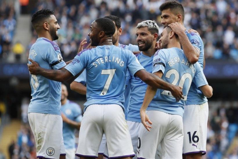 ULME! Manchester City algkoosseisu väärtus ületas miljardi euro piiri