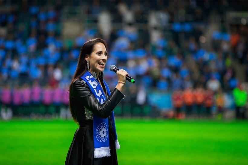 Elina Nechayeva jalgpallikohtumisel hümni laulmisest: kuulsin kaebusi küll