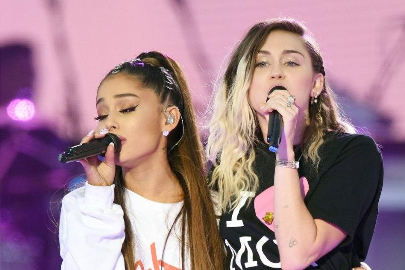 Ariana Grande, Miley Cyrus ja Lana Del Rey avaldavad ühislaulu
