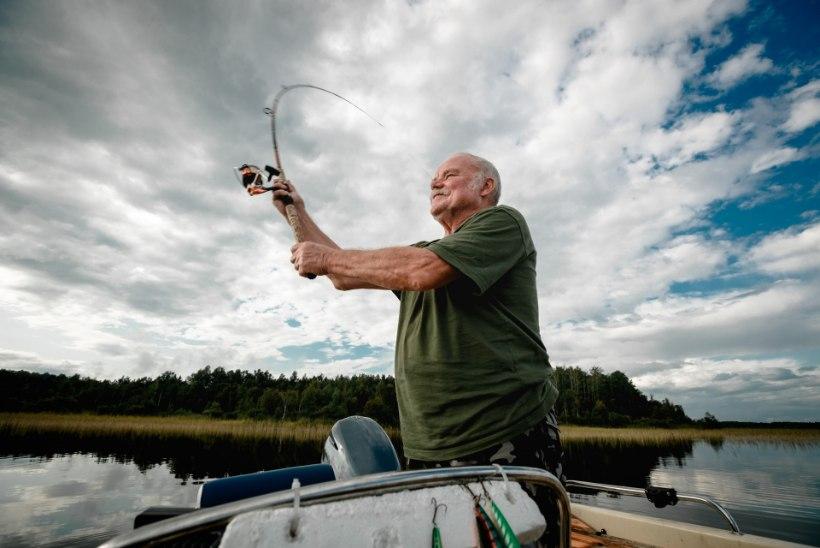 """Kalamees Peeter Raja: """"Tänapäeval pead kaval olema, et kala saada!"""""""