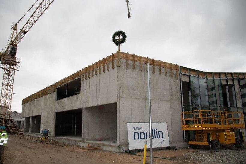 Pärnusse kerkiva lasteaia ehitusel peeti sarikapidu