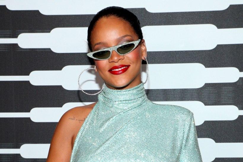 Rihanna korraldas seksika ja staarideküllase pesusõu