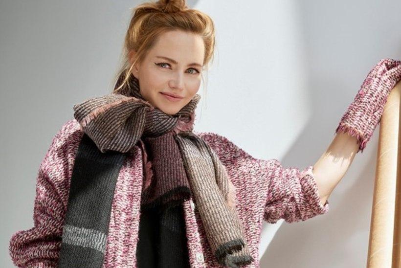 Sarmikas näitlejanna Mirtel Pohla astub üles modellina
