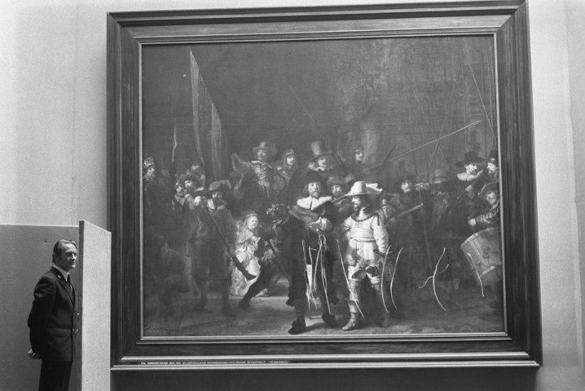MINEVIKUHETK | 14. september: töötu õpetaja ründas võinoaga kuulsat Rembrandti maali