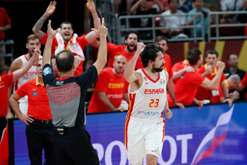 KORVPALLI MM | KAKS LISAAEGA! Üle noatera pääsenud Hispaania pani kättemaksu jahtinud Austraalia valusalt paika