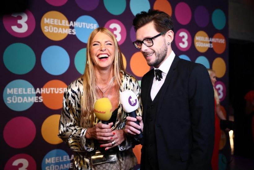 ÕL ÜLEKANNE JA GALERII | Vaata, kuidas Eesti seltskonnatähtede koorekiht pidutses TV3 peol!
