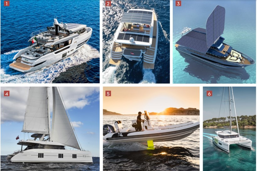 6 loodussõbralikku veesõidukit Cannes'i jahifestivalilt