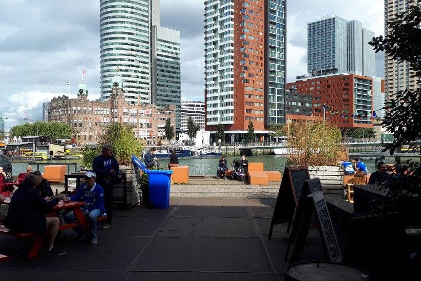ÕL HOLLANDIS   Sinisärgid täidavad Tulpidemaa tänavaid, fännibaasiks on kodune Balti jaam