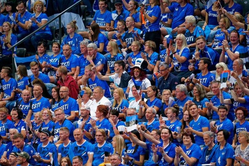 Hollandlased maksavad Eesti võrkpallifännide peo kinni