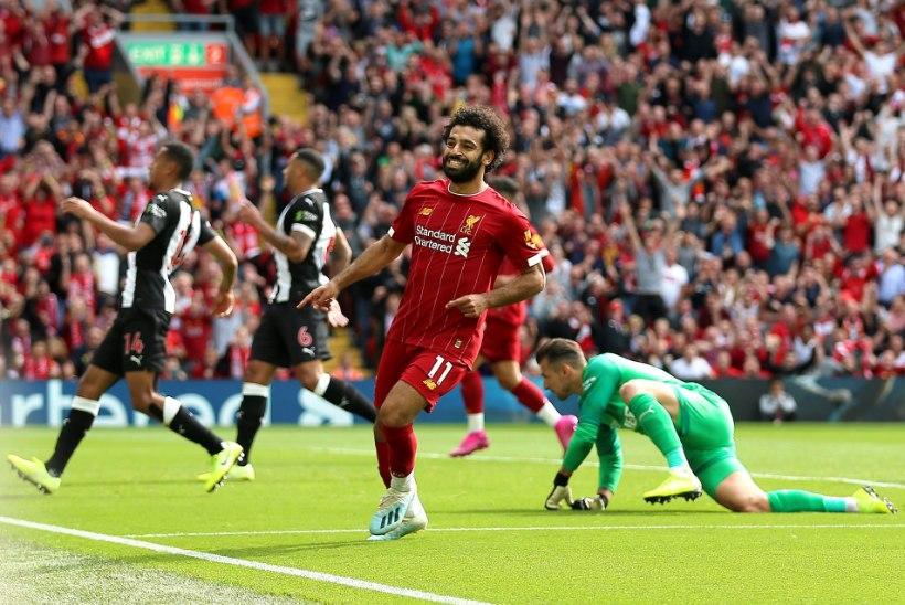 Liverpool tuli kaotusseisust välja ning jätkab viie vooru järel täiseduga