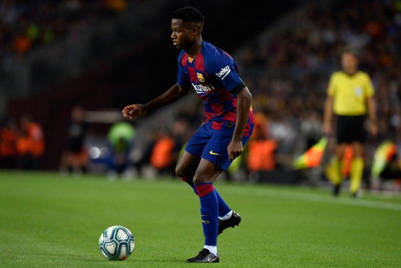 USKUMATU! Kõigest 16aastane Barcelona mängija tegi Hispaania liigas ajalugu