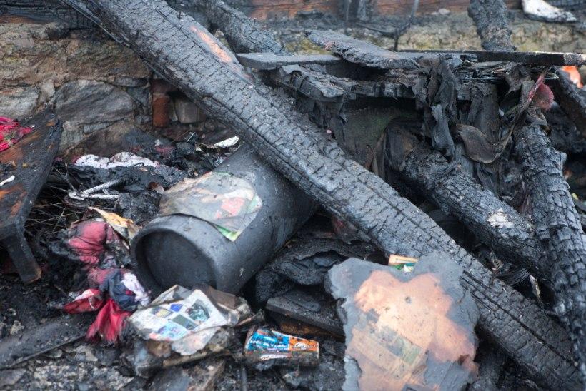 Põlenud garaaži rusudest leitud mees võis hukkuda plahvatuses