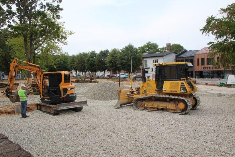 Otepää nagistab maanteeametiga: uue keskväljaku projekt teemeestele ei sobi