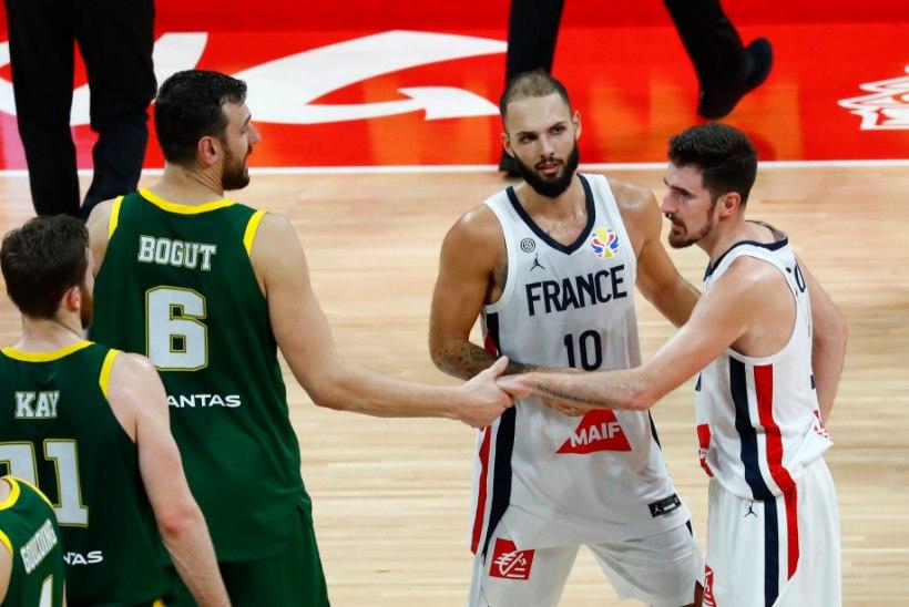 Korvpalli MM | Pronksi said kaela põnevusmängu võitnud prantslased