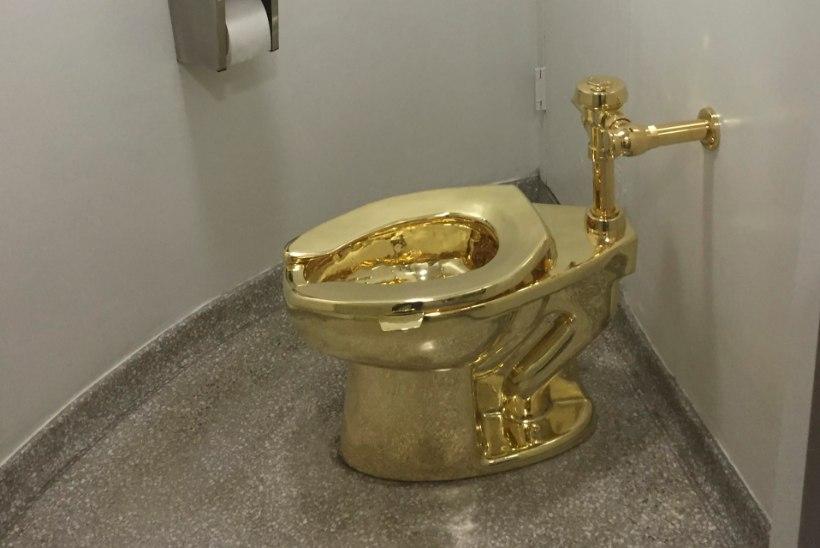 Trump põlgas ära, aga nüüd krabasid vargad kuldse WC-poti